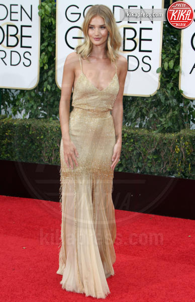 Rosie Huntington-Whiteley - Los Angeles - 10-01-2016 - Golden Globe 2016: le dive fronte e retro