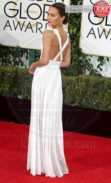 Alicia Vikander - Los Angeles - 10-01-2016 - Golden Globe 2016: le dive fronte e retro
