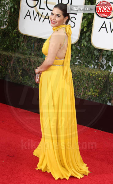 America Ferrera - Los Angeles - 10-01-2016 - Golden Globe 2016: le dive fronte e retro