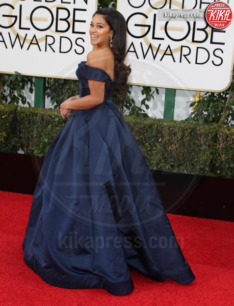 Gina Rodriguez - Los Angeles - 10-01-2016 - Golden Globe 2016: le dive fronte e retro