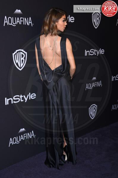 Sarah Hyland - Beverly Hills - 10-01-2016 - Golden Globe 2016: le dive fronte e retro
