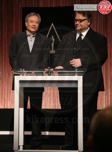 Guillermo del Toro, Ang Lee - Academy Of Motion Picture Arts A - 14-01-2016 - Oscar 2016: tutte le nomination. Le immagini dell'annuncio