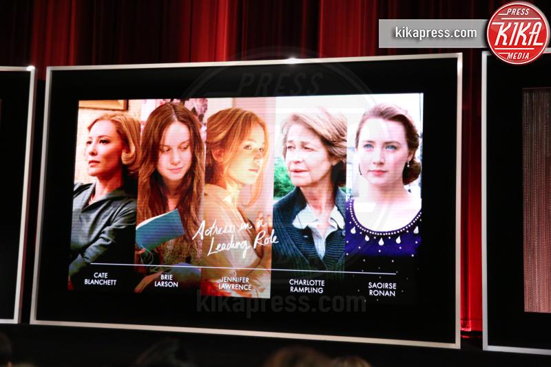 Atmosphere - Los Angeles - 14-01-2016 - Oscar 2016: tutte le nomination. Le immagini dell'annuncio