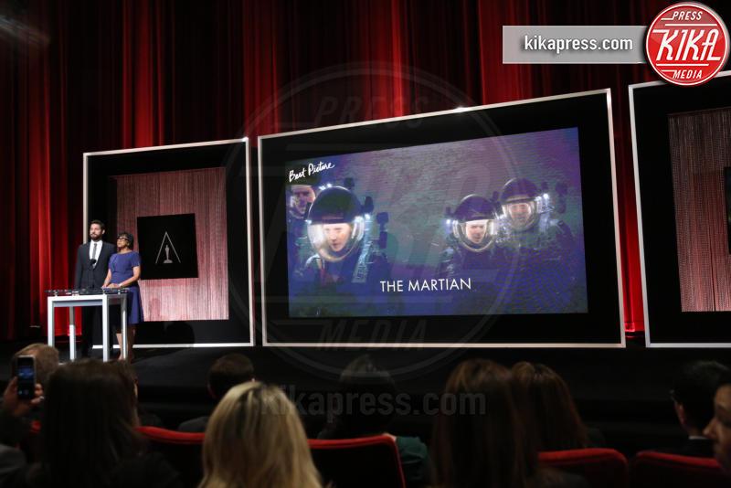 Cheryl Boone Isaacs, John Krasinski - Los Angeles - 14-01-2016 - Oscar 2016: tutte le nomination. Le immagini dell'annuncio