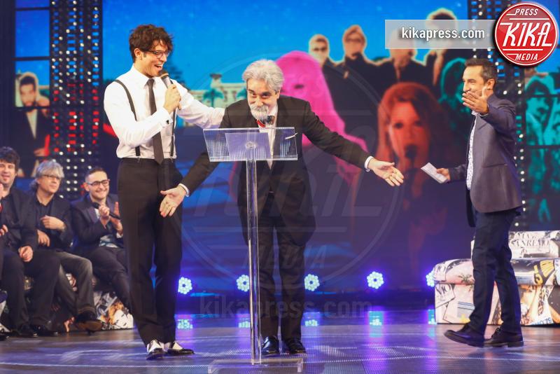Nicola Savino, Gabriel Garko, Beppe Vessicchio - Sanremo - 11-02-2016 - Sanremo 2016, le star si ritrovano tutte da Nicola Savino