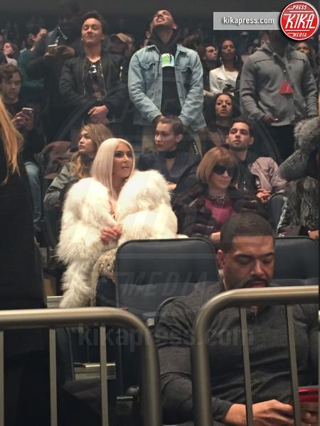 Gigi Hadid, Kim Kardashian, Anna Wintour - New York - 11-02-2016 -