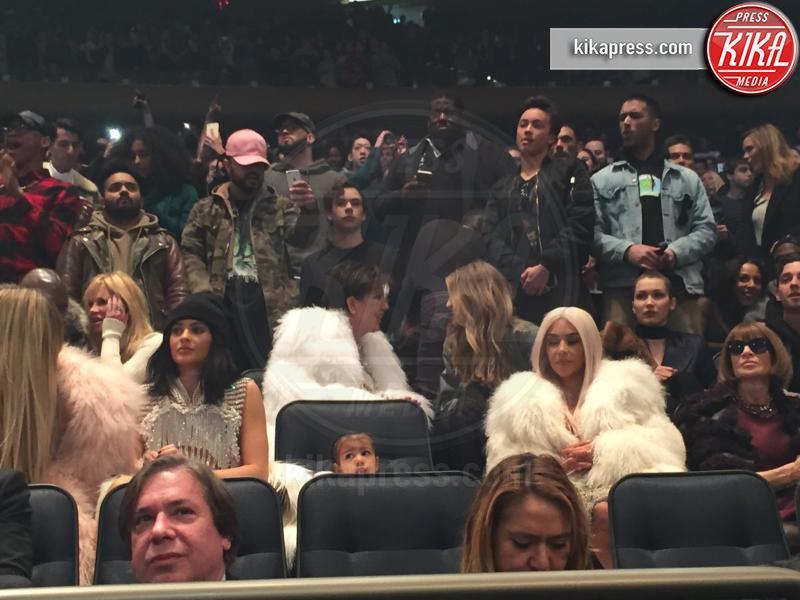 Gigi Hadid, North West, Kim Kardashian, Kris Jenner, Anna Wintour - New York - 11-02-2016 -