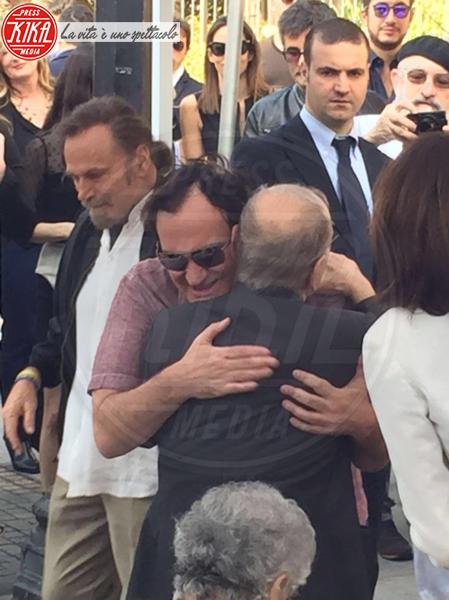 Ennio Morricone, Franco Nero, Quentin Tarantino - Los Angeles - 26-02-2016 - Oscar 2016: a Ennio Morricone la Miglior Colonna Sonora