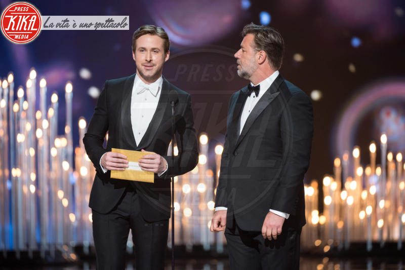 Russell Crowe, Ryan Gosling - Hollywood - 29-02-2016 - Oscar 2016: and the Oscar goes to... Ennio Morricone!
