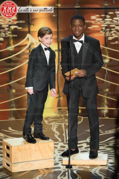Jacob Tremblay, Abraham Attah - Hollywood - 29-02-2016 - Oscar 2016: and the Oscar goes to... Ennio Morricone!