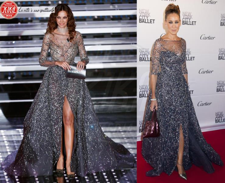 Madalina Ghenea, Sarah Jessica Parker - 04-03-2016 - Sanremo contro Hollywood: chi lo indossa meglio?