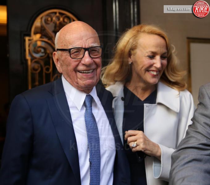 Rupert Murdoch, Jerry Hall - Londra - 03-04-2012 - Rupert Murdoch e Jerry Hall hanno detto sì