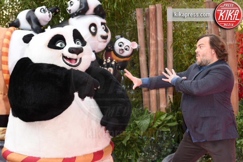 Jack Black - Londra - 06-03-2016 - Kate Hudson, scollature pericolose alla prima di Kung Fu Panda 3