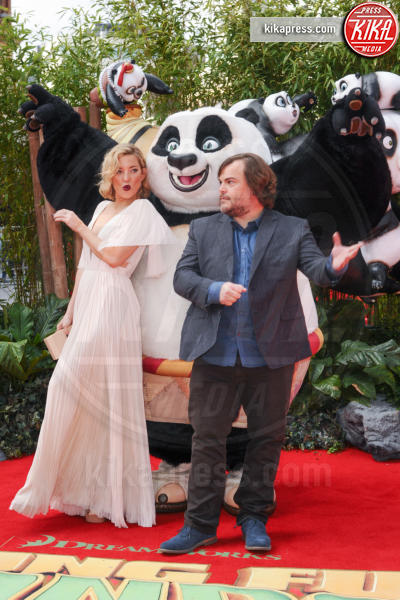 Kate Hudson, Jack Black - Londra - 06-03-2016 - Kate Hudson, scollature pericolose alla prima di Kung Fu Panda 3