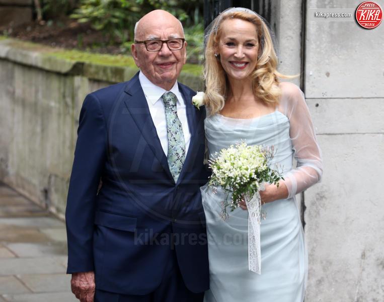 Rupert Murdoch, Jerry Hall - Londra - 05-03-2016 - Rupert Murdoch e Jerry Hall hanno detto sì
