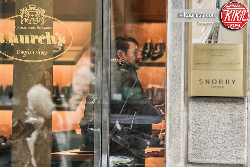 Giacomo Poretti - Milano - 09-03-2016 - Giacomo Poretti il letterato si concede una giornata di shopping