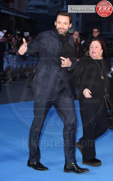 Hugh Jackman - Londra - 17-03-2016 - Eddie the Eagle, le star sono Hugh Jackman e Claudia Schiffer