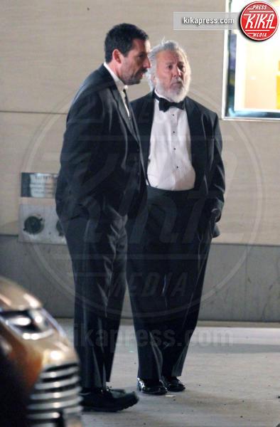 Adam Sandler, Dustin Hoffman - New York - 18-03-2016 - The Meyerowitz Stories, Dustin Hoffman o Babbo Natale?