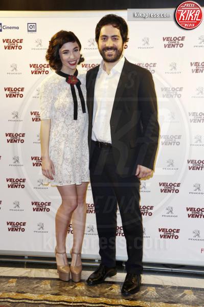 Matilda De Angelis, Matteo Rovere - Milano - 06-04-2016 - Bianca Vitali e Stefano Accorsi, coppia d'oro sul red carpet