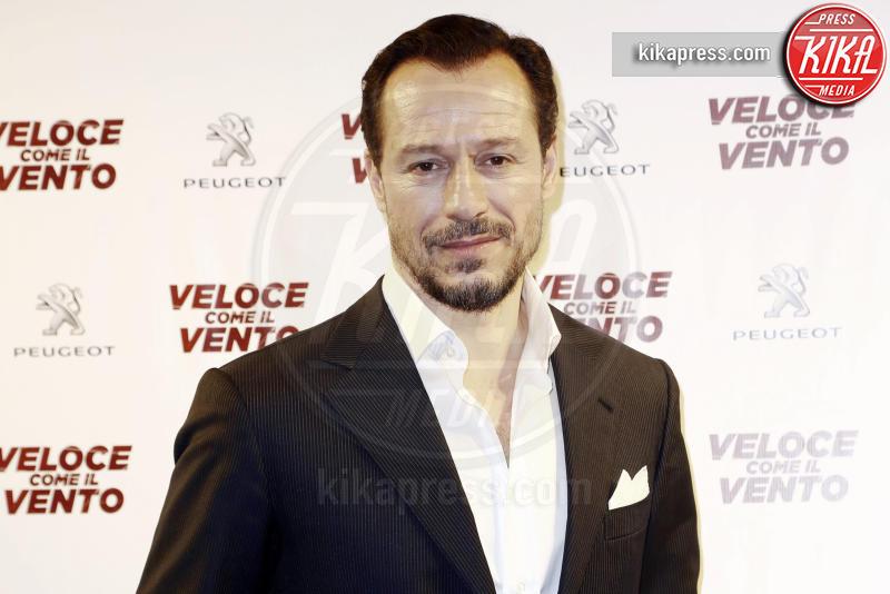 Stefano Accorsi - Milano - 06-04-2016 - Bianca Vitali e Stefano Accorsi, coppia d'oro sul red carpet