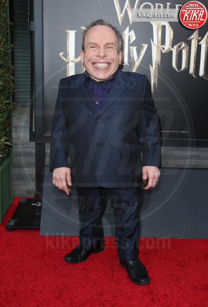 Warwick Davis - Universal City - 05-04-2016 - Steven Spielberg inaugura il Wizarding World of Harry Potter
