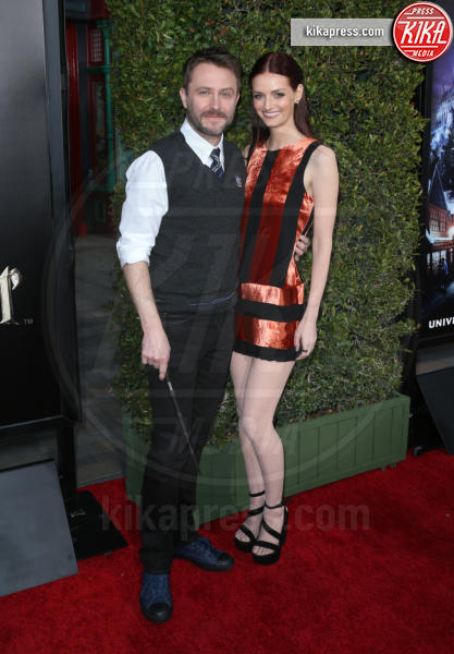 Chris Hardwick, Lydia Hearst - Universal City - 05-04-2016 - Steven Spielberg inaugura il Wizarding World of Harry Potter