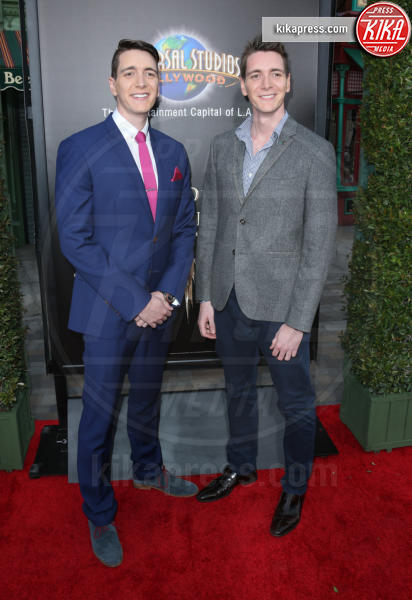 Oliver Phelps, James Phelps - Universal City - 05-04-2016 - Steven Spielberg inaugura il Wizarding World of Harry Potter