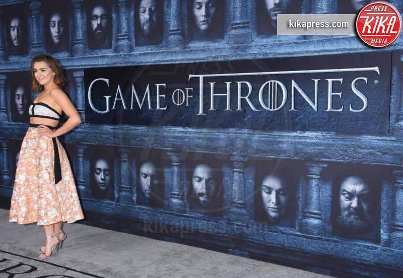 Maisie Williams - Hollywood - 10-04-2016 - Il Trono di Spade 6: le foto della premiere americana
