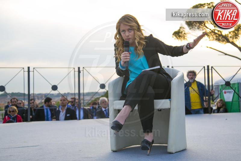 Giorgia Meloni - Roma - 21-04-2016 - Andrea Giambruno sceglie il silenzio:
