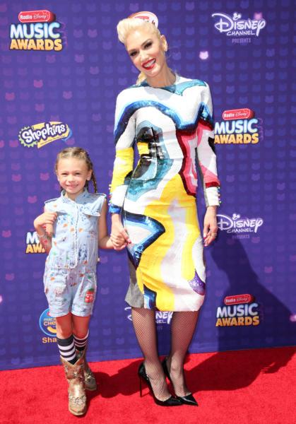 Stella Stefani, Gwen Stefani - Los Angeles - 30-04-2016 - Disney: la nipotina di Gwen Stefani già una fashion victim
