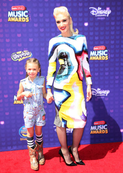 Guest, Stella Stefani, Gwen Stefani - Los Angeles - 30-04-2016 - Disney: la nipotina di Gwen Stefani già una fashion victim