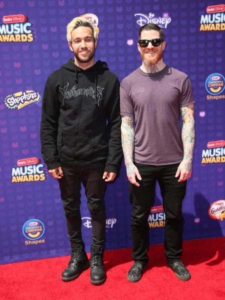 Andy Hurley, Pete Wentz, Fall Out Boy - Los Angeles - 30-04-2016 - Disney: la nipotina di Gwen Stefani già una fashion victim
