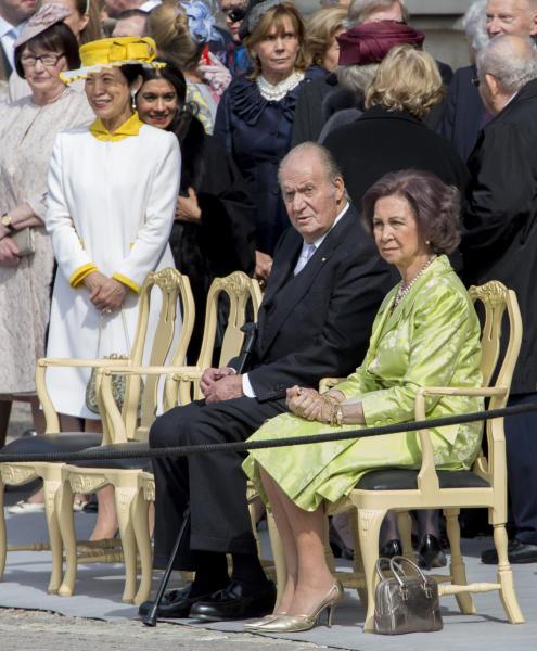 Juan Carlos  di Spagna, Sofia di Spagna - Stoccolma - 30-04-2016 - Principessa Estelle, che barba queste feste reali!
