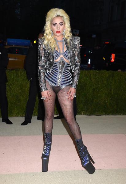 Lady Gaga - New York - 02-05-2016 - Taylor Swift argento vivo ai MET Gala 2016