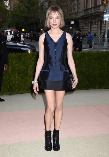 Michelle Williams - New York - 02-05-2016 - Taylor Swift argento vivo ai MET Gala 2016