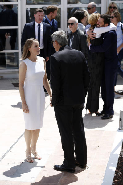 Jodie Foster, George Clooney - Cannes - 13-05-2016 - Cannes 2016 cala la coppia d'assi Clooney-Roberts