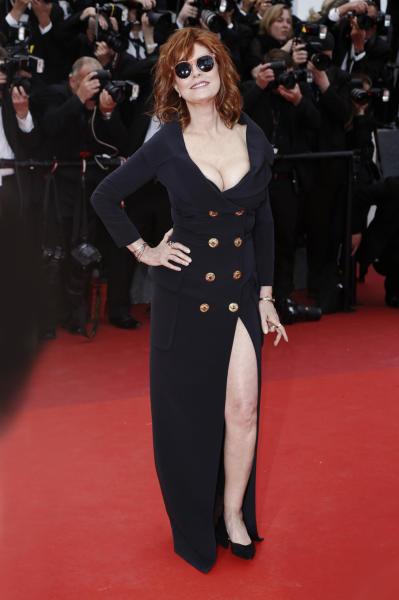 Susan Sarandon - Cannes - 13-05-2016 - Spacchi estremi: da Belen a Giulia Salemi e Dayane Mello