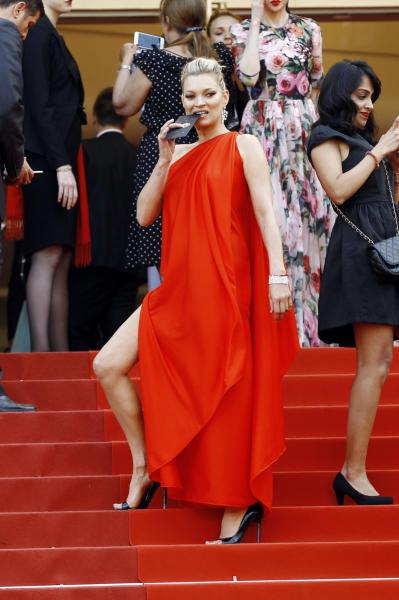 Kate Moss - Cannes - 17-05-2016 - Spacchi estremi: da Belen a Giulia Salemi e Dayane Mello