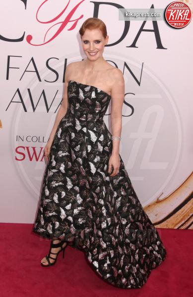Jessica Chastain - New York - 06-06-2016 - CFDA Fashion Awards 2016: un tripudio di nero e argento!