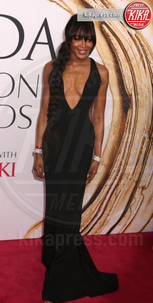 Naomi Campbell - New York - 06-06-2016 - CFDA Fashion Awards 2016: un tripudio di nero e argento!