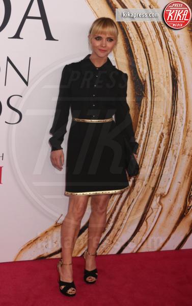 Christina Ricci - New York - 06-06-2016 - CFDA Fashion Awards 2016: un tripudio di nero e argento!