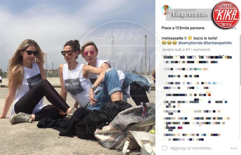 Melissa Satta - Spagna - 08-06-2016 - Melissa Satta fa arrabbiare le damigelle di nozze!