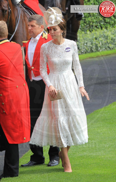Kate Middleton - Ascot - 15-06-2016 - Bianco o pastello, ecco il pizzo dell'estate!