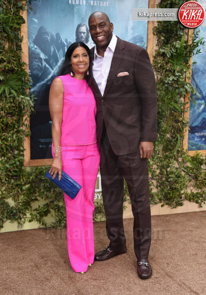 "Earvin ""Magic"" Johnson, Earlitha ""Cookie"" Kelly - Hollywood - 27-06-2016 - The Legend of Tarzan: la premiere mondiale a Los Angeles"