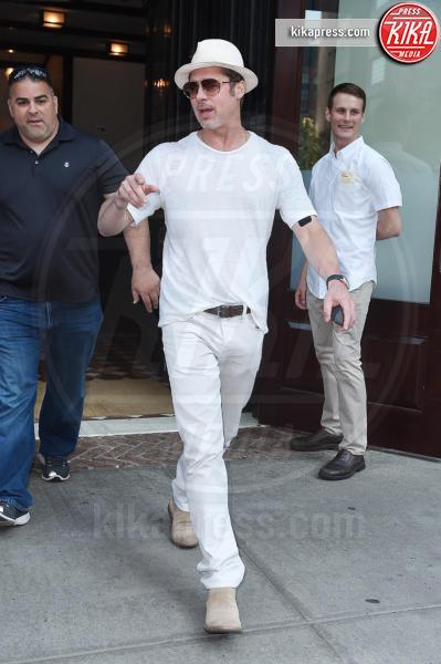 Brad Pitt - New York - 20-07-2016 - Brad Pitt, la polizia continua a indagare per maltrattamenti