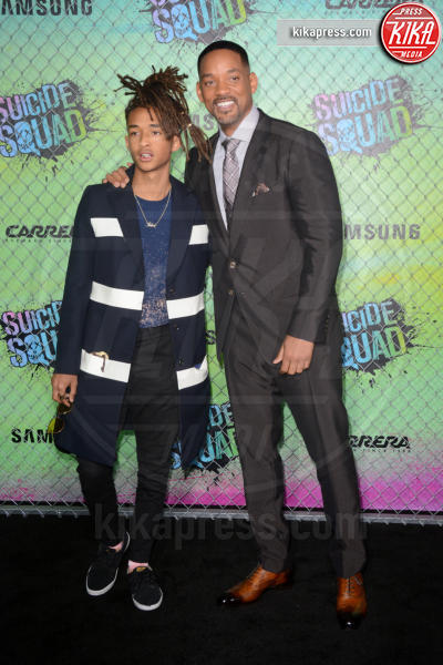 Jaden Smith, Will Smith - New York - 02-08-2016 - Suicide Squad, le foto della premiere di New York