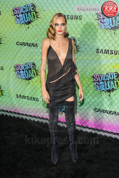Cara Delevingne - New York - 02-08-2016 - Suicide Squad, le foto della premiere di New York