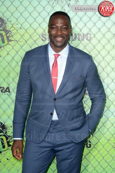 Adewale Akinnuoye-Agbaje - New York - 02-08-2016 - Suicide Squad, le foto della premiere di New York