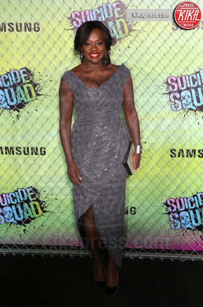 Viola Davis - New York - 01-08-2016 - Suicide Squad, le foto della premiere di New York