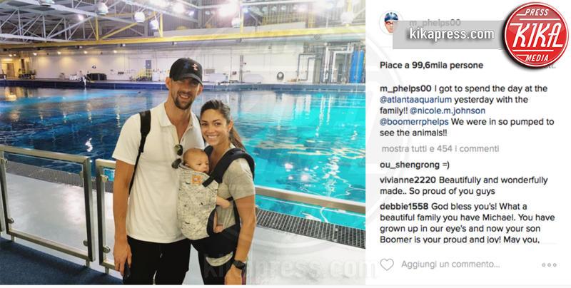Boomer Phelps, Michael Phelps, Nicole Johnson - 08-08-2016 - Michael Phelps: questo è il mio alloro più bello